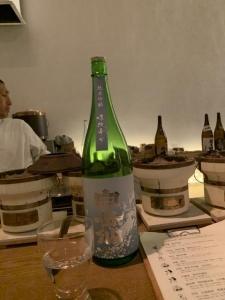 安本酒造 白岳仙 純米吟醸五百万石あらばしり
